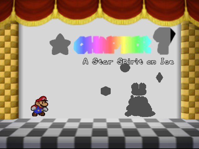 Paper Mario - Cut-Scene  - My favorite chapter - User Screenshot